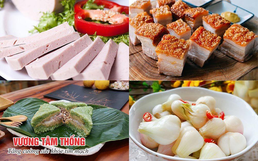 Những món ăn dịp Tết cổ truyền làm tăng nguy cơ mắc bệnh tim mạch